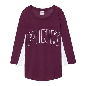 Victoria's Secret Pink Logo Top